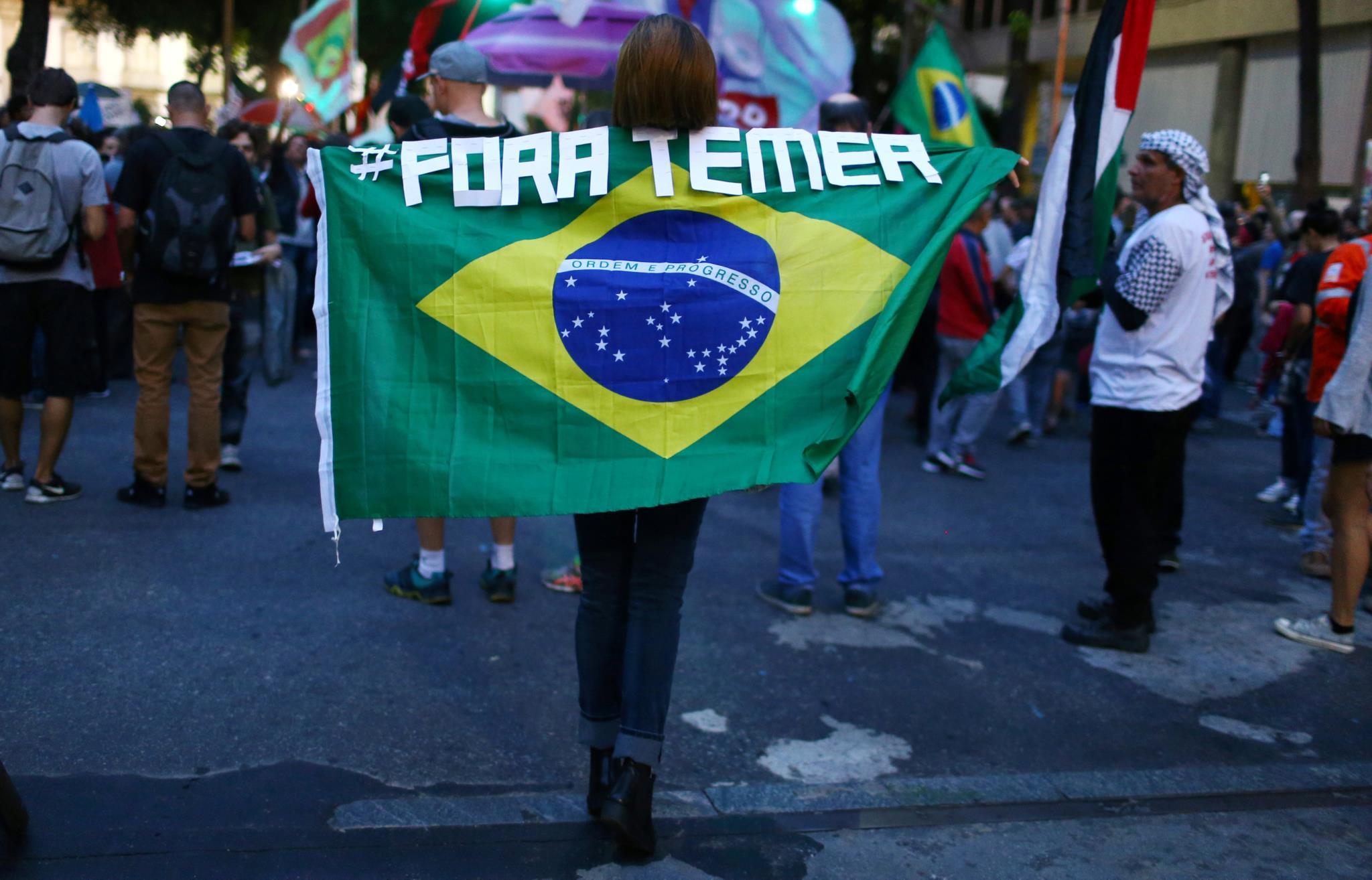 Os protestos voltam às ruas do Brasil