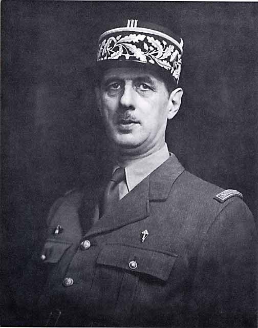 O general Charles de Gaulle morreu em 1970