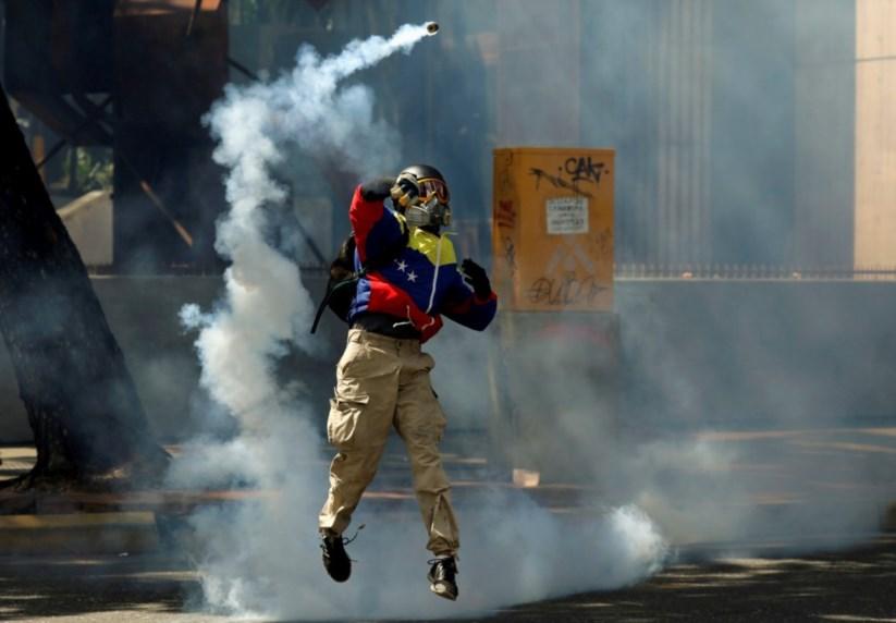 A Venezuela está há largos meses mergulhada no caos