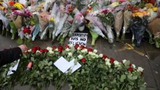 Tributo às vítimas de Londres