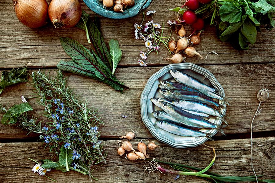 A sardinha é linda!
