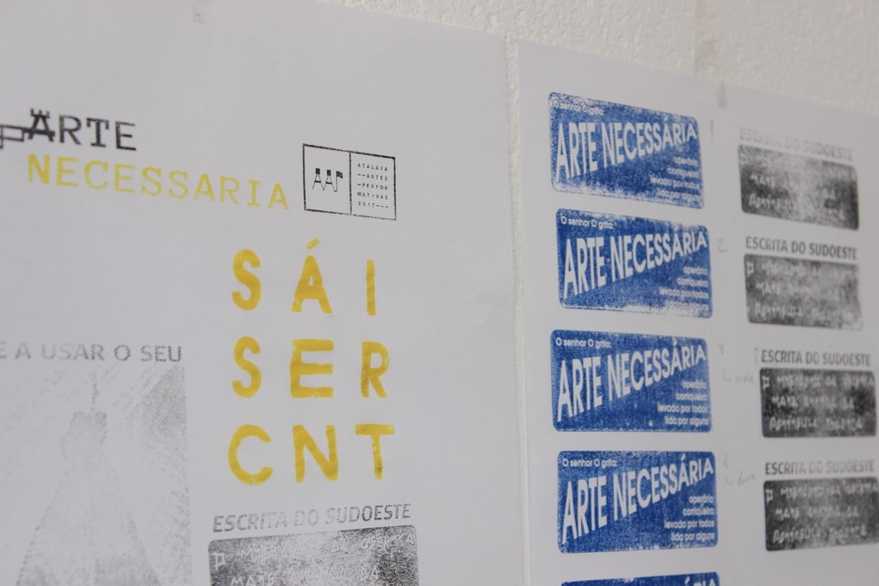 PÚBLICO - Pela quarta vez, o Atalaia prova que a arte não pertence aos centros