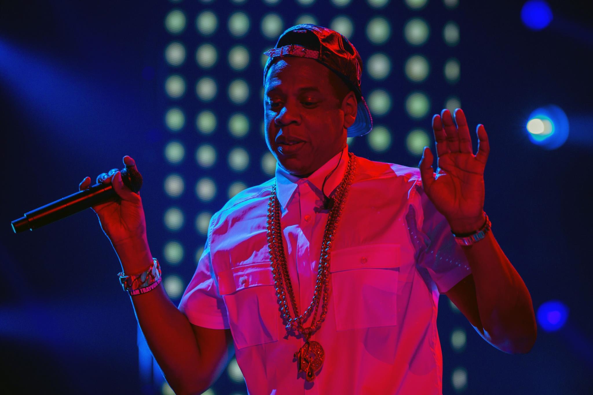 Jay Z em palco em 2013