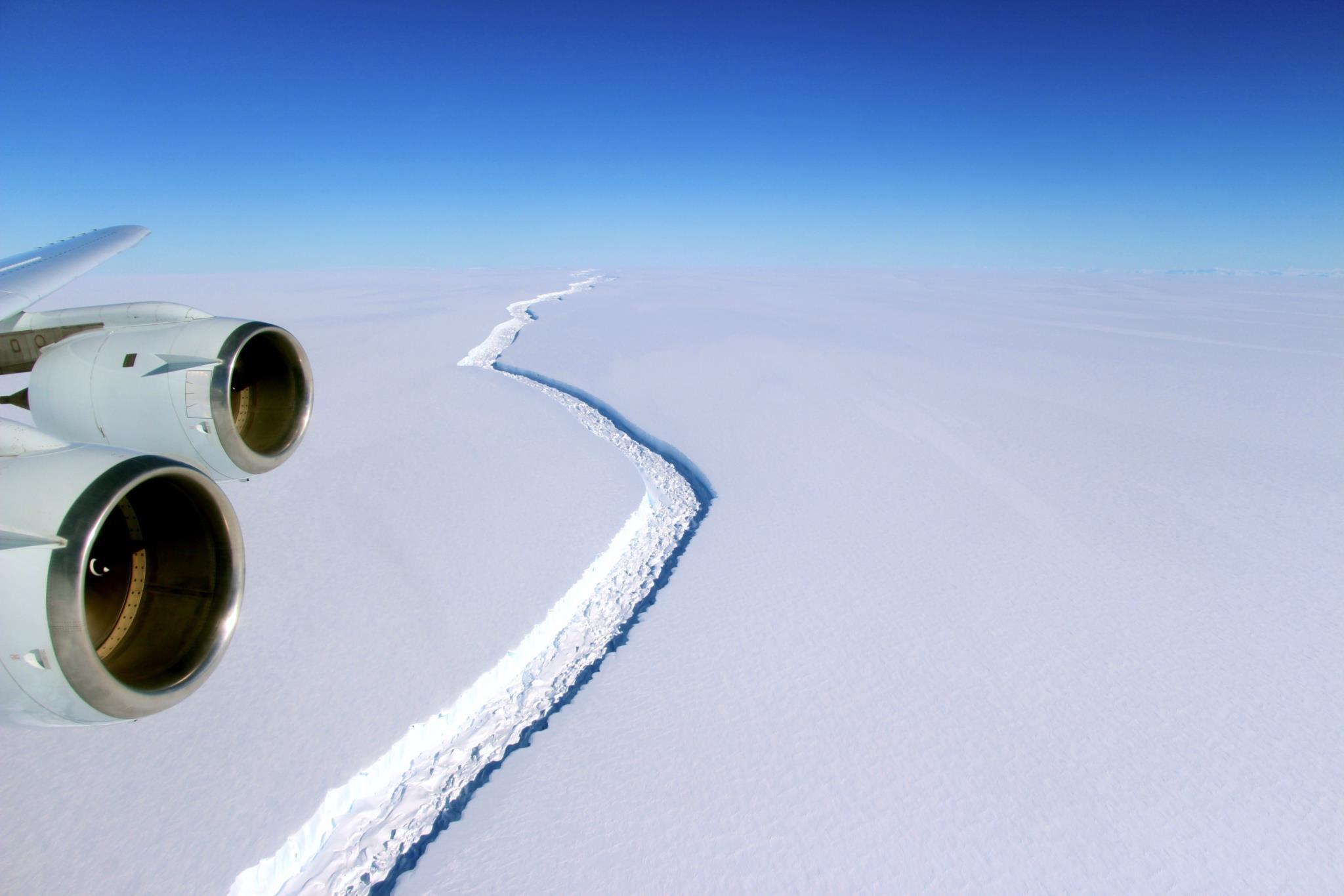 Icebergue gigante desprendeu-se na Antárctida