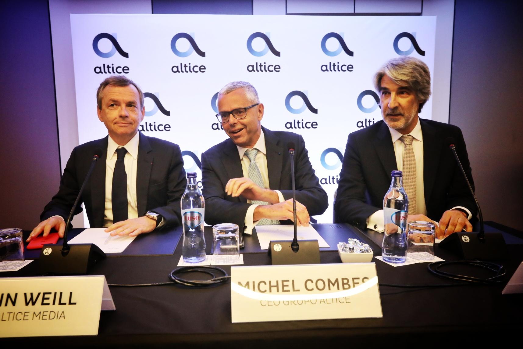 Ao minuto: patrão da Altice reúne-se com Marcelo e Costa