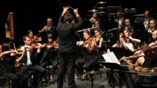 O maestro Pedro Amaral dirigiu a Orquestra Metropolitana de Lisboa no Cine-Teatro Garrett, na Póvoa de Varzim