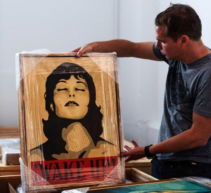 """PÚBLICO - Shepard Fairey: """"A arte política nunca foi tão necessária como hoje"""""""