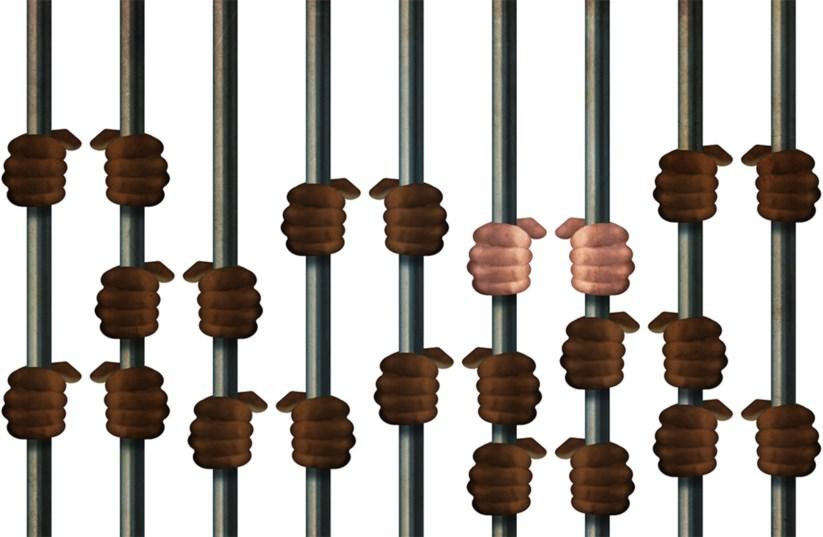 Há dez vezes mais africanos nas prisões do que portugueses