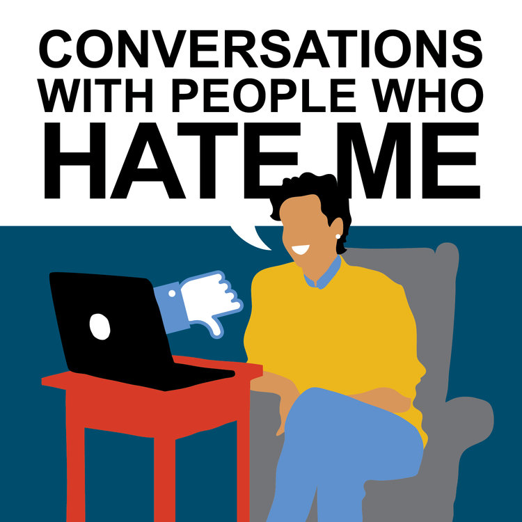 PÚBLICO - <i>Conversations with People who Hate Me</i>, um <i>podcast</i> sobre o ódio