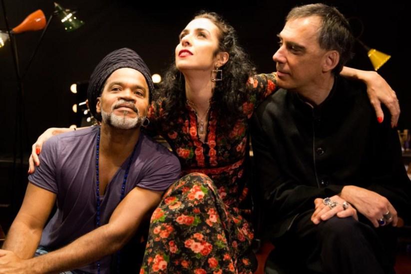 Os Tribalistas: Carlinhos Brown, Marisa Monte e Arnaldo Antunes