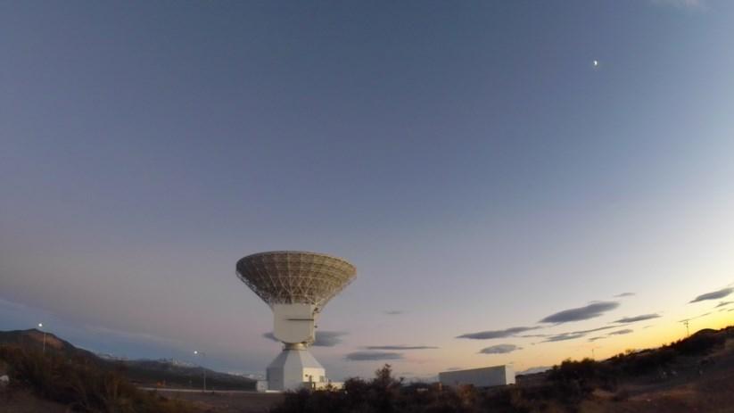 Em Malargüe, na Argentina, está situada uma das muitas antenas que recebem os dados enviados pelas sondas no espaço