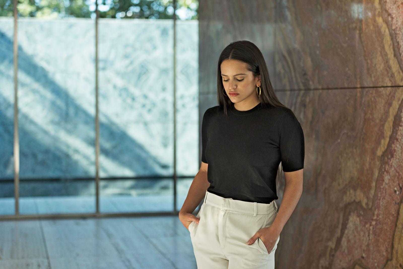 PÚBLICO - O flamenco pessoal de Rosalía é cru, primário e magnífico
