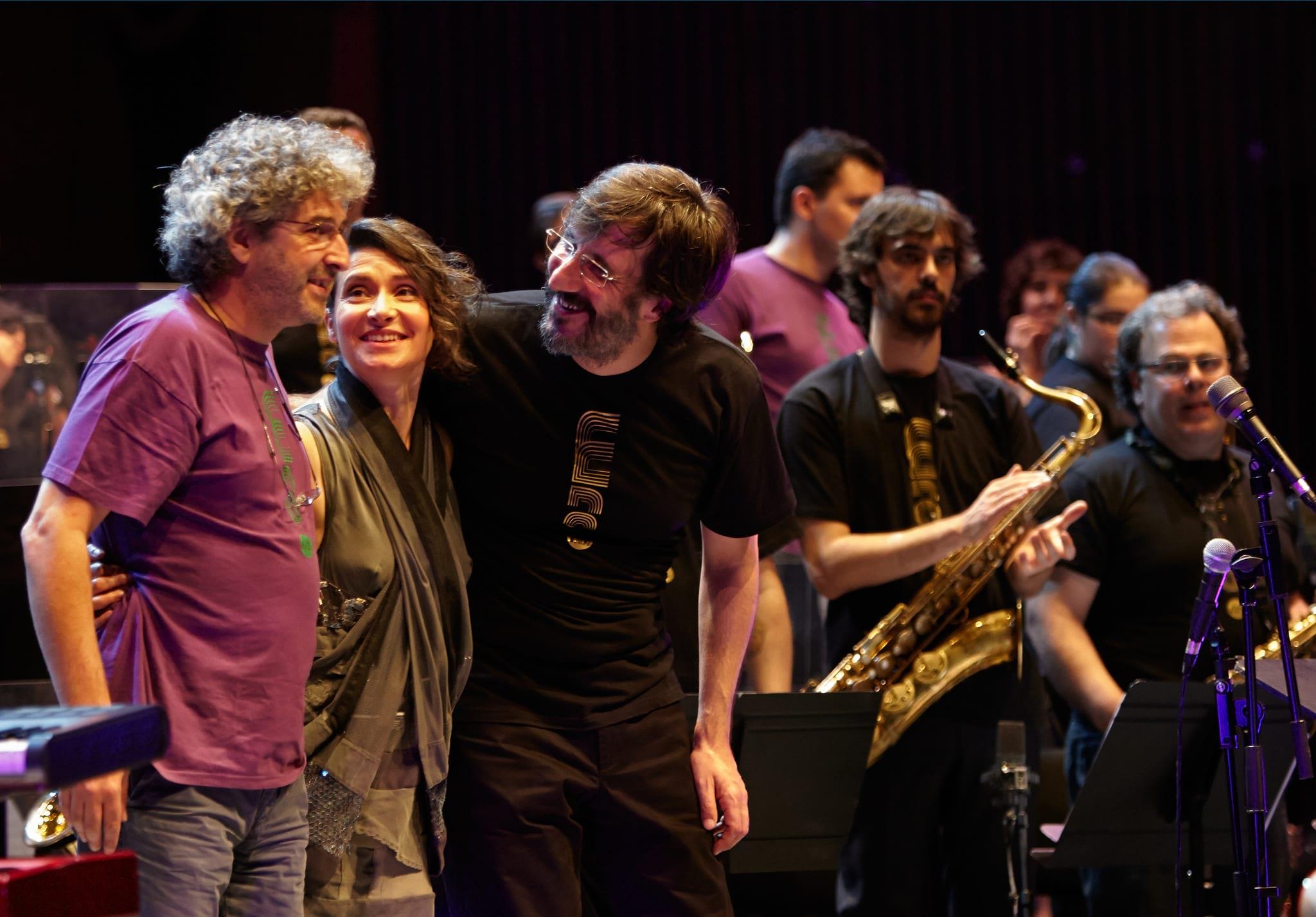 PÚBLICO - Orquestra de Jazz de Matosinhos e Manuela Azevedo juntos em Lisboa