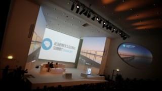 """António Damásio discursou sobre a memória na cimeira internacional """"Alzheimer's Global Summit"""", que decorreu na Fundação Champalimaud"""