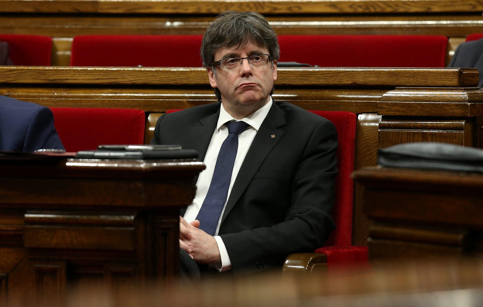 PÚBLICO - Carles Puigdemont, o independentista sereno no meio do furacão