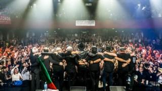 Resistência em concerto no Bataclan de Paris, no dia 29 de Janeiro de 2017