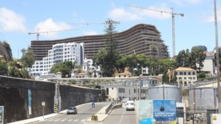 O incidente aconteceu nas obras do Hotel Savoy