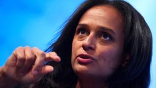 """A corrupção """"depende da educação que se tem, da mãe, do pai, do professor"""", disse Isabel dos Santos"""
