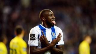 Marega marcou dois golos contra o Paços de Ferreira