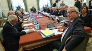Juncker no Conselho de Estado