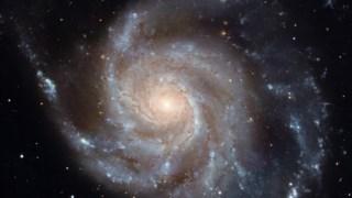 A Messier 101, uma galáxia espiral como a nossa Via Láctea