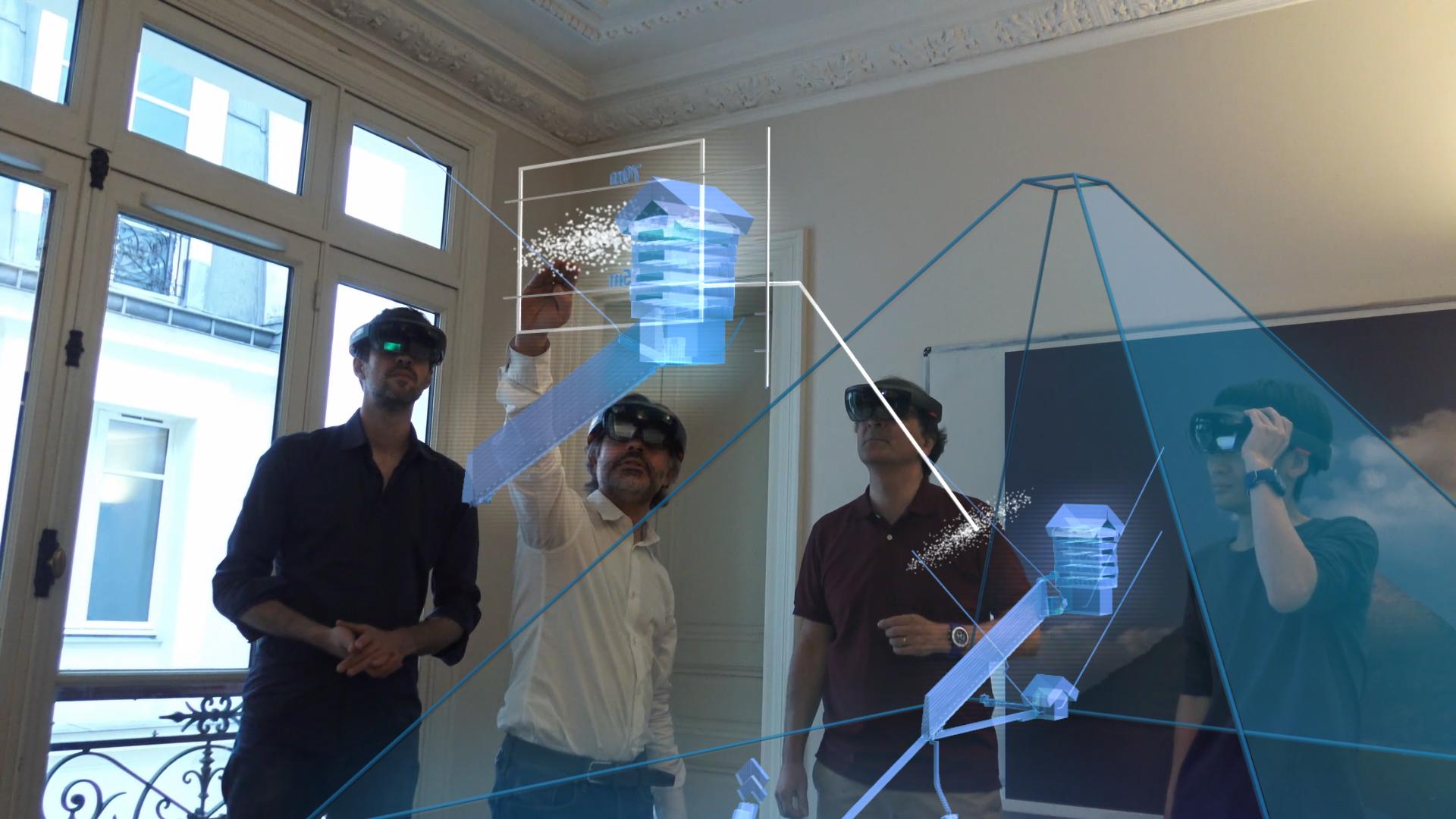 Investigadores a usar tecnologia de realidade virtual para visualizar o interior da Pirâmide de Gizé, no Egipto.