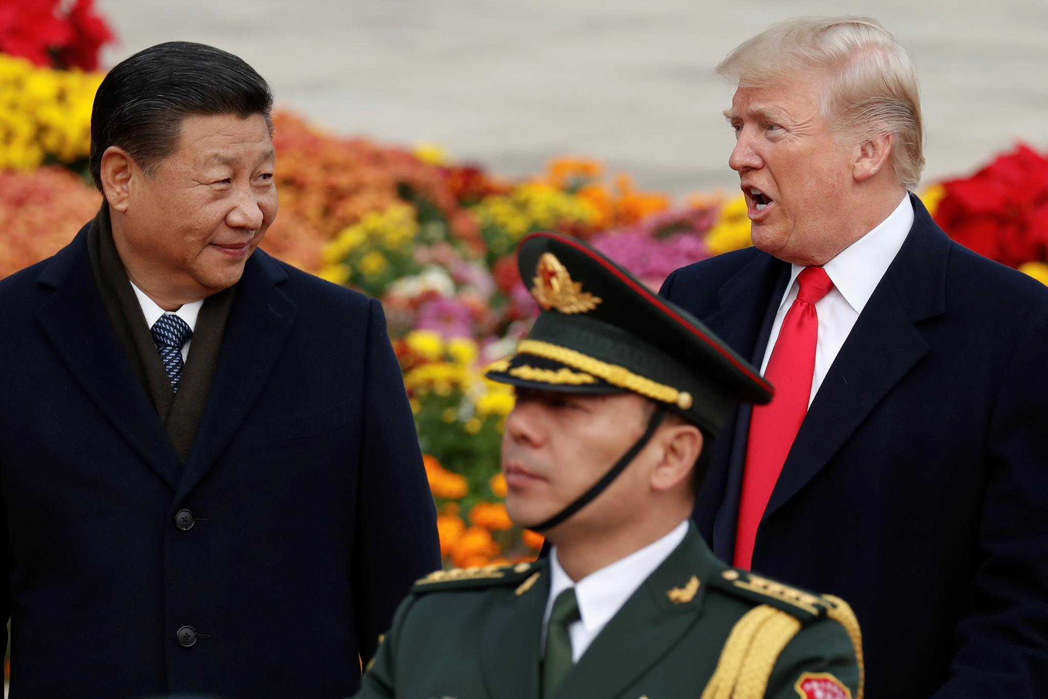 """Trump elogiou repetidas vezes Xi, considerando-o """"um homem muito especial"""""""