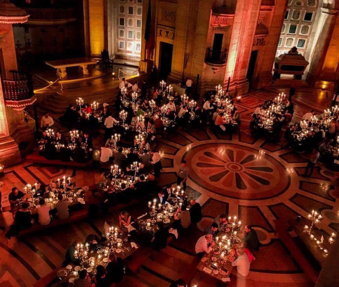 Resultado de imagem para jantares no panteão
