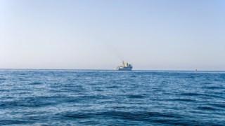 O naufrágio aconteceu pelas 5h20, numa zona em frente às torres de Ofir