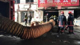 O incêndio ocorreu num prédio de dois andares