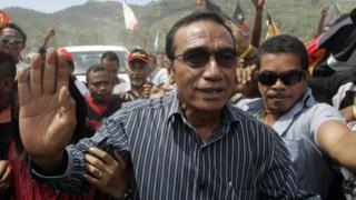 """O Presidente timorense, Francisco Guterres Lu-Olo, criticou os que """"derrubam irmãos"""" para ocupar cadeiras de poder"""