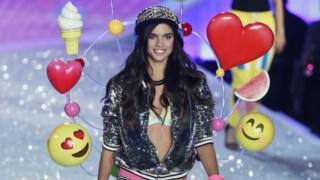 Sara Sampaio desfilou pela primeira vez para a Victoria's Secret em 2013