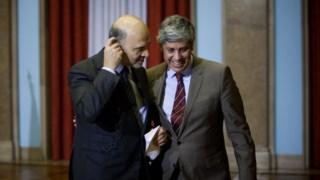 Centeno e Moscovici