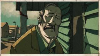 O protagonista do conto <i>Sleepwalk</i>, Lloyd Jenkins