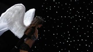 Em 2008, a modelo no desfile que ocorreu em Miami