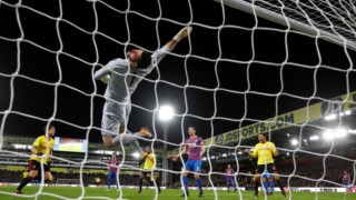 O Watford perdeu no terreno do Crystal Palace