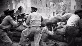 A acção do romance desenrola-se durante a Guerra Civil Espanhola, em que Simon participou