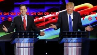 o senador Marco Rubio, adversário de Donald Trump nas eleições presidenciais, vai votar favoravelmente a reforma fiscal