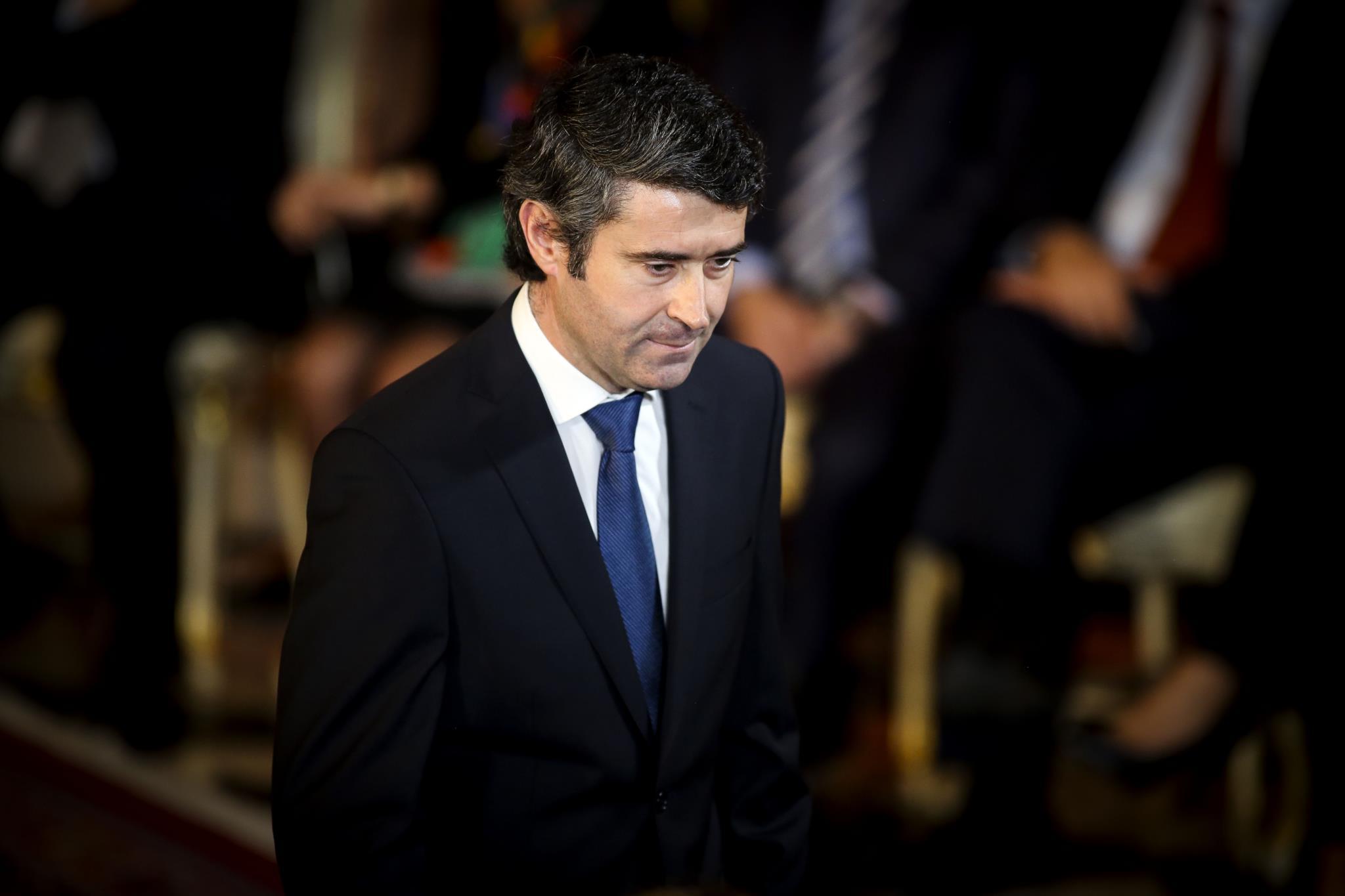 O secretário de Estado das Comunidades, José Luís Carneiro