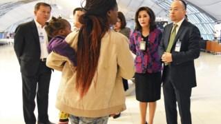 A família submeteu um pedido de asilo à ONU