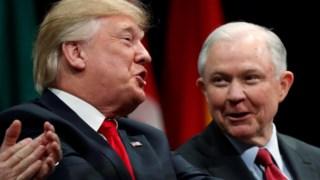Donald Trump e Jeff Sessions