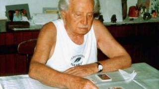 O escritor Jorge Amado fotografado em 2001