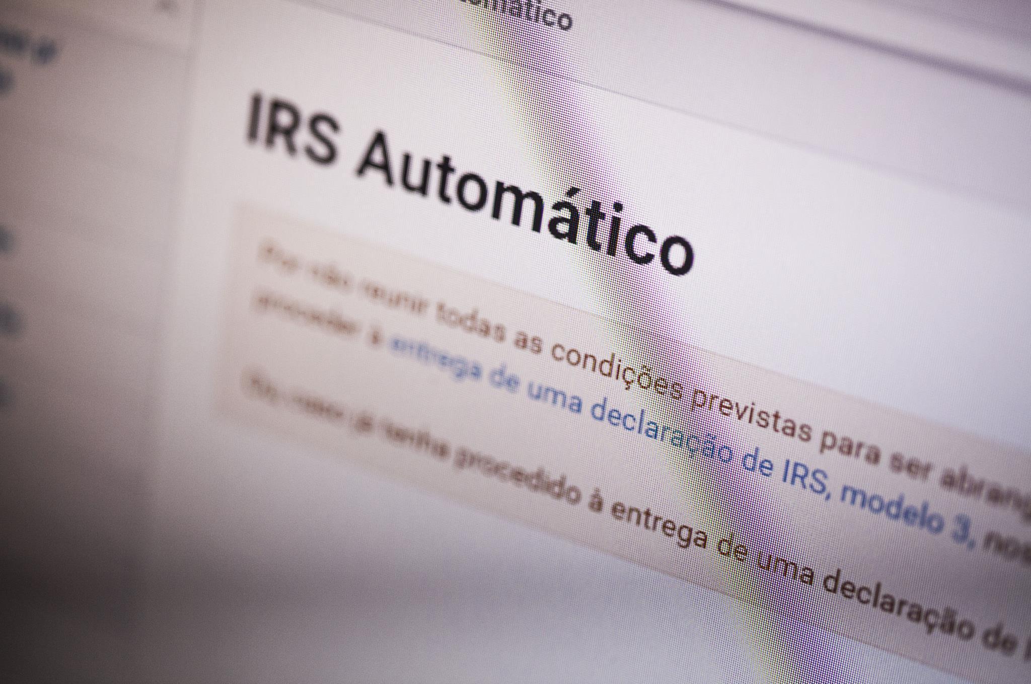 IRS automático para quem tem filhos já tem regras definidas