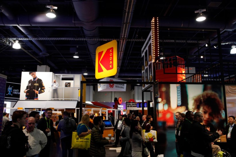 A Kodak foi contagiada pela febre das criptomoedas