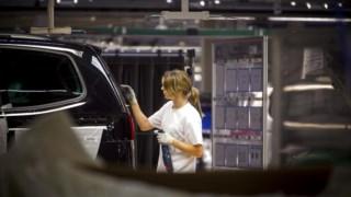 O ano de 2017 é o melhor  da fábrica da Volkswagen em Palmela desde 2012 (quando foram produzidos 112.550 veículos)