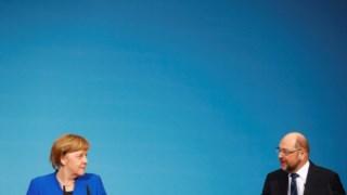 O acordo de princípio para a formação de um governo de coligação entre Merkel e Schulz vai bem mais longe do que se previa