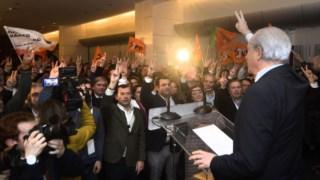 Rio foi eleito líder do PSD em directas com 54% dos votos