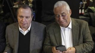 António Costa com Carlos César nas Jornadas Parlamentares do PS