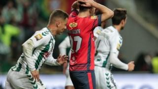 A Oliveirense desperdiçou muitas ocasiões de golo contra o V. Setúbal