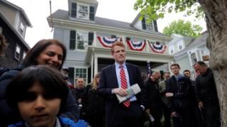 Joe Kennedy III é membro da Câmara dos Representantes pelo Massachusetts